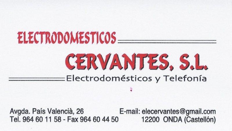 Electrodomesticos Cervantes