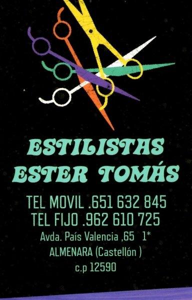 Estilistas Ester Tomas