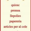 Papeleria Novenes